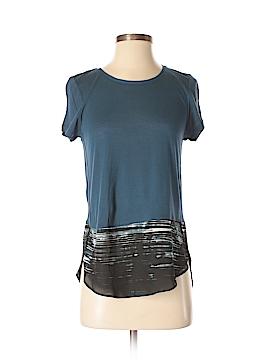 Simply Vera Vera Wang Short Sleeve Top Size XS (Petite)