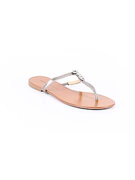 Badgley Mischka Flip Flops Size 8