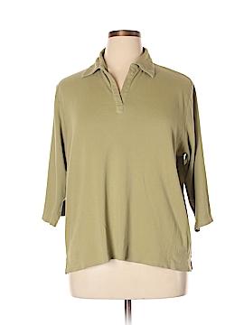 Jennifer Moore 3/4 Sleeve Polo Size XL