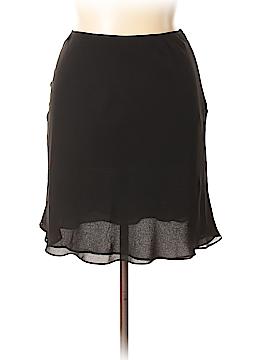 INC International Concepts Silk Skirt Size 14