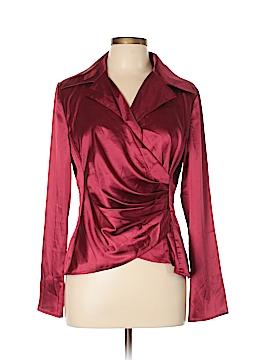 Metro Style Long Sleeve Blouse Size 12