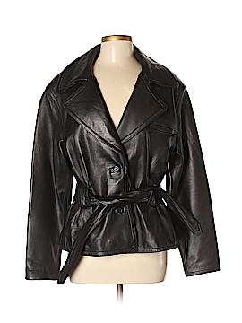 NM Luxury Essentials Leather Jacket Size M