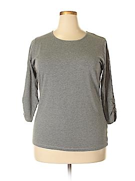 Anne Klein 3/4 Sleeve Top Size 1X (Plus)