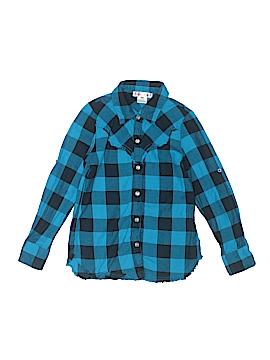 Ragdoll & Rockets Long Sleeve Button-Down Shirt Size 6