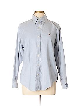 Ralph Lauren Golf Long Sleeve Button-Down Shirt Size 10