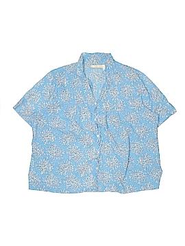 La Cera Short Sleeve Button-Down Shirt Size XL