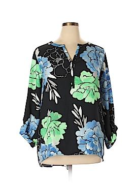 Rafaella Long Sleeve Blouse Size 2X (Plus)