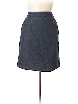 Boston Proper Denim Skirt Size 10