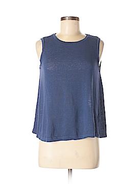 Velvet Sleeveless T-Shirt Size S
