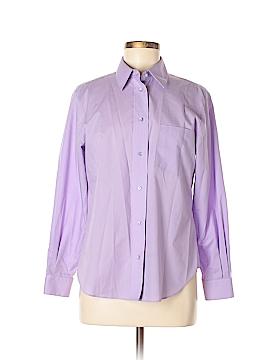 Foxcroft Long Sleeve Button-Down Shirt Size 10 (Petite)