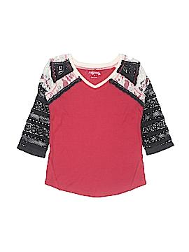 Jak & Peppar 3/4 Sleeve Top Size 16