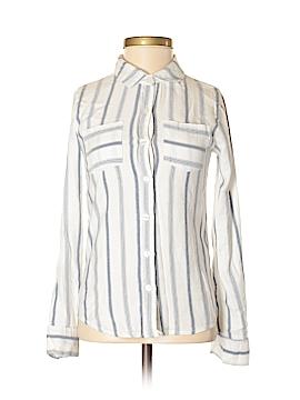 Full Tilt Long Sleeve Button-Down Shirt Size XS