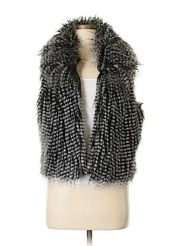 BCBGeneration Faux Fur Vest Size M
