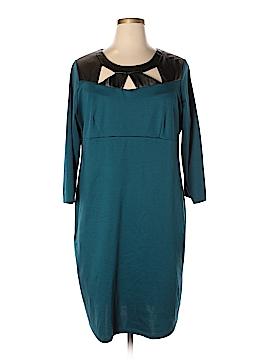 Slinky Brand Casual Dress Size 1X (Plus)