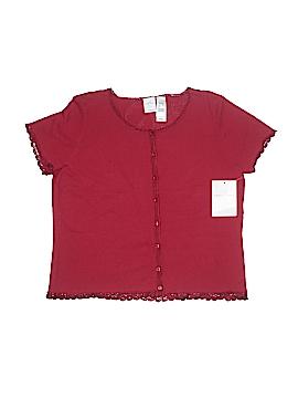 Emma James Short Sleeve Button-Down Shirt Size XL