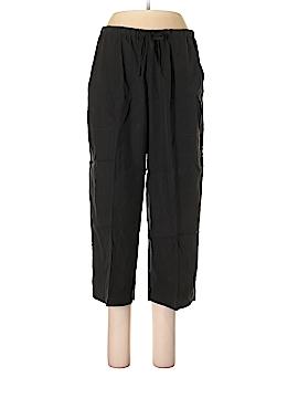 Valerie Stevens Silk Pants Size L (Petite)