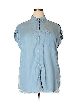 Aerie Short Sleeve Blouse Size XL