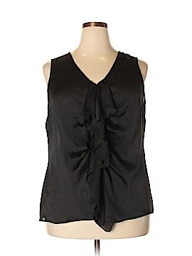 Sunny Leigh Sleeveless Blouse Size 1X (Plus)