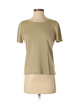 Jones New York Short Sleeve Silk Top Size S