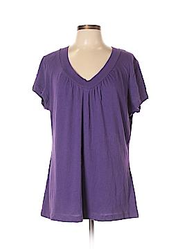 Mix & CO Short Sleeve T-Shirt Size 1X (Plus)