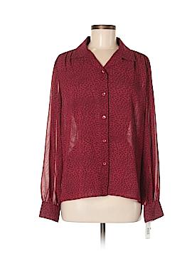DKNY Long Sleeve Button-Down Shirt Size 8