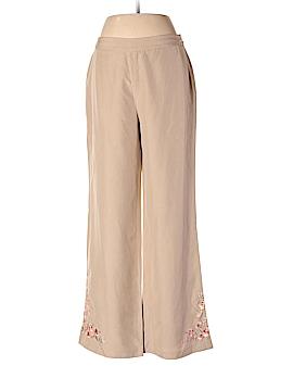 Casual Corner Linen Pants Size 8