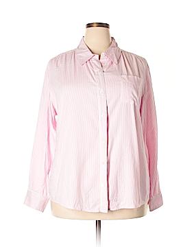 Isaac Mizrahi for Target Long Sleeve Button-Down Shirt Size XXL