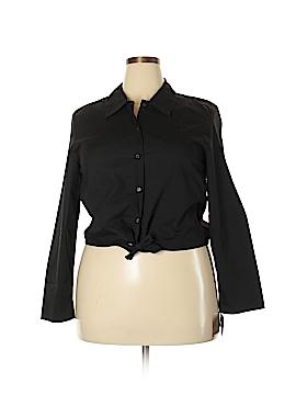 JG HOOK Long Sleeve Button-Down Shirt Size 16