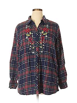Blair Long Sleeve Button-Down Shirt Size XL