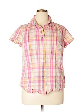 Venezia Outlet Short Sleeve Button-Down Shirt Size 14 - 16
