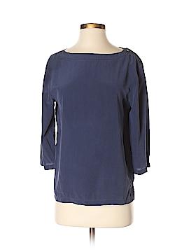 Equipment 3/4 Sleeve Silk Top Size S