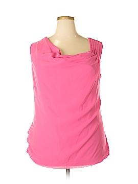 Rafaella Sleeveless Blouse Size 1X (Plus)