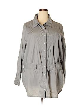 Sean John Long Sleeve Button-Down Shirt Size 3X (Plus)