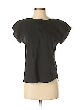 Erika & Co. Short Sleeve Henley Size M