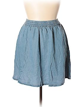Forever 21 Denim Skirt Size 1X (Plus)