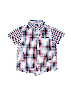 H&M Short Sleeve Button-Down Shirt Size 4 - 5