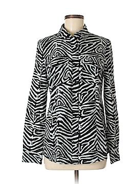 MICHAEL Michael Kors Long Sleeve Button-Down Shirt Size 8
