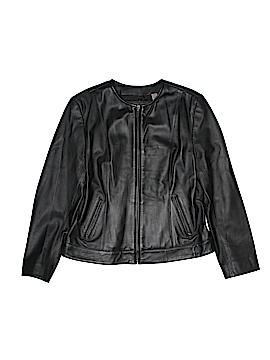 I.e. Leather Jacket Size M (Petite)