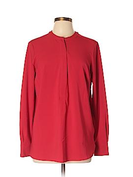Hilary Radley Long Sleeve Blouse Size L