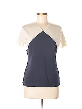 Ralph Lauren Collection Short Sleeve Silk Top Size L