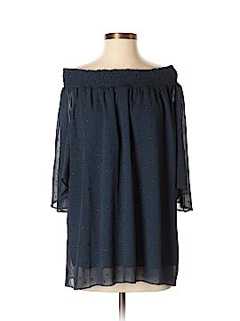 T Tahari 3/4 Sleeve Blouse Size L