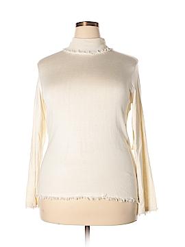 Russell Kemp New York Silk Pullover Sweater Size XL