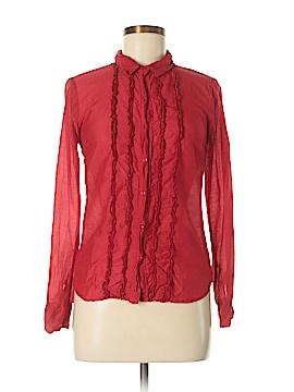 Splendid 3/4 Sleeve Button-Down Shirt Size S
