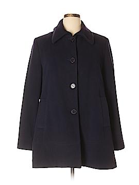 Kristen Blake Wool Coat Size XL