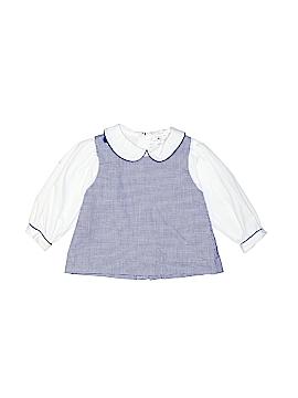 Petit Ami Long Sleeve Blouse Size 9 mo