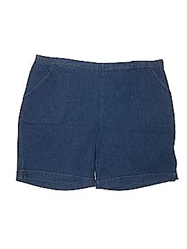 Just My Size Denim Shorts Size 3X (Plus)