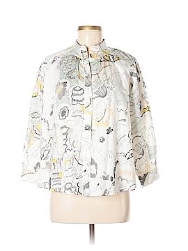 Chloé Long Sleeve Button-Down Shirt Size 12