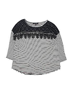 B.l.e.u. 3/4 Sleeve Top Size L