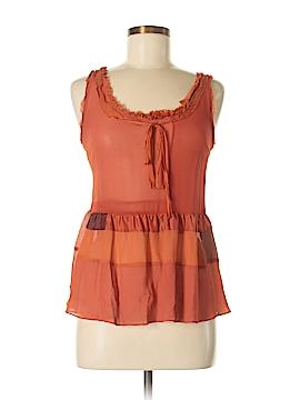 Floreat Sleeveless Silk Top Size S
