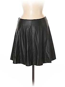 Lucy Paris Faux Leather Skirt Size M